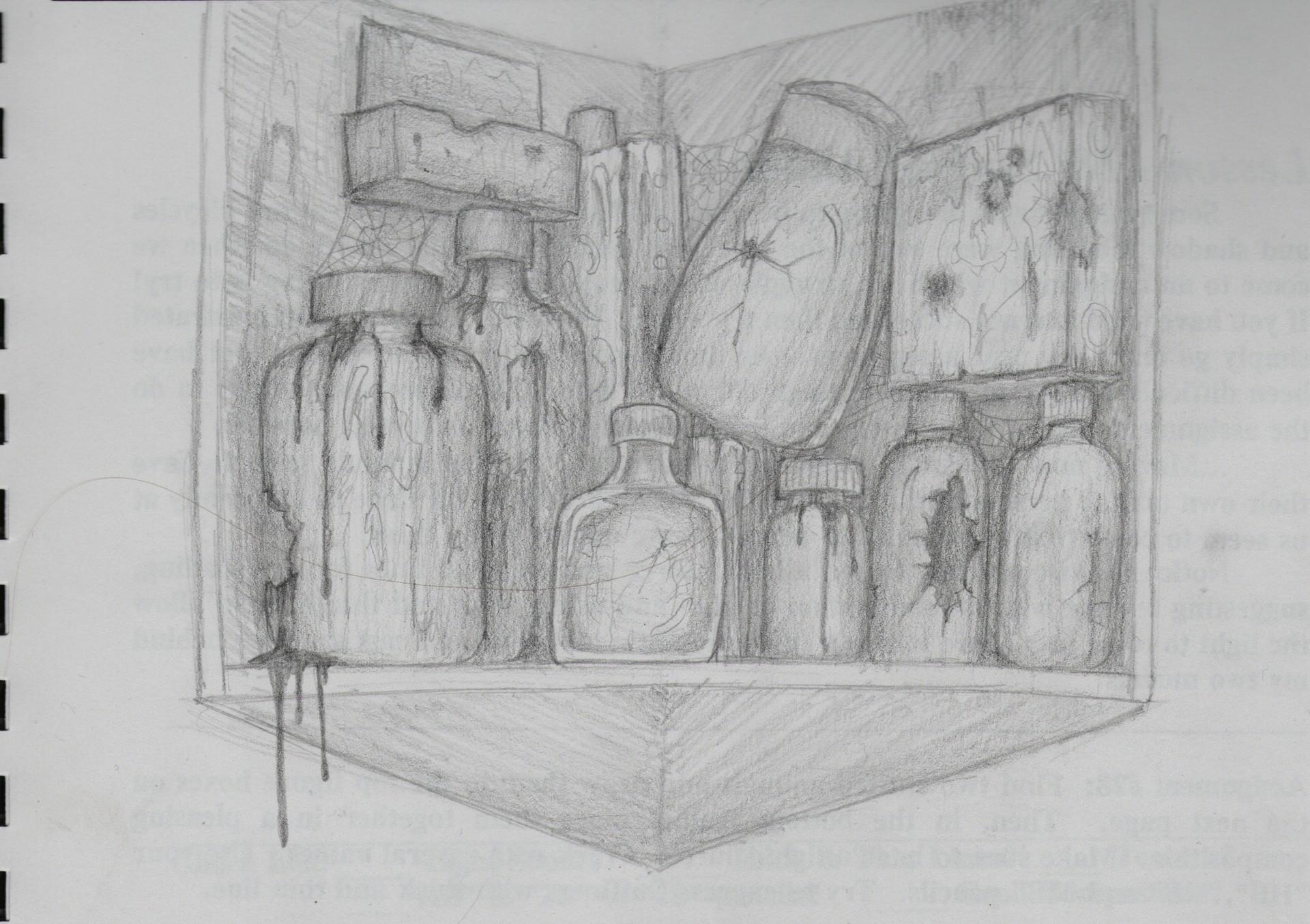 Akai shoku cabinet1
