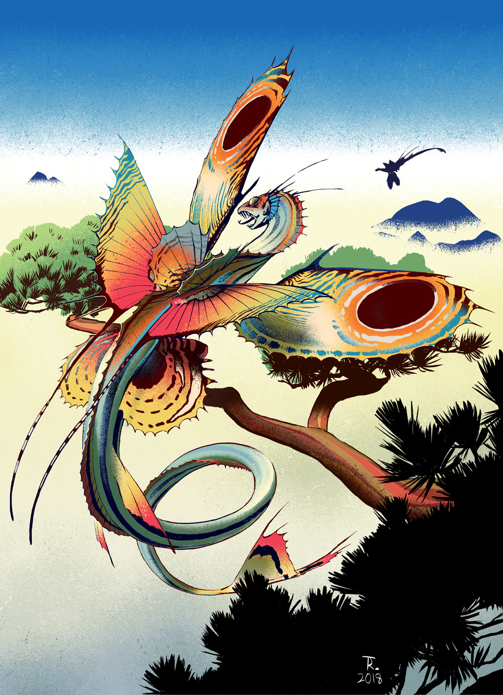 Tinctorium manicthe dragon