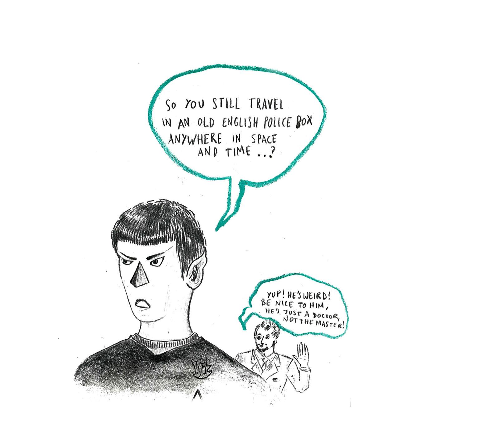 Star Trek & Dr. Who — 2015