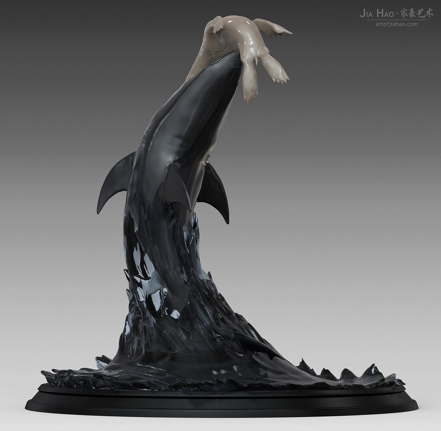 Jia hao greatwhiteshark digitalsculpture 03