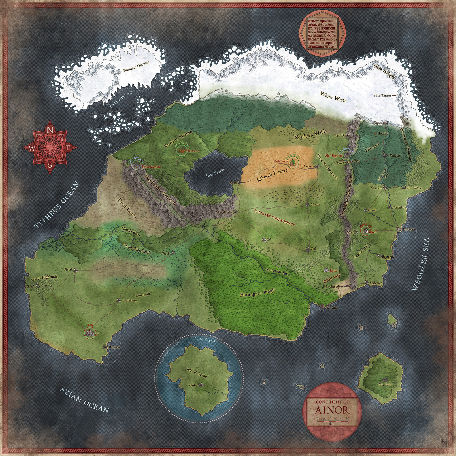 Continent of Ainor