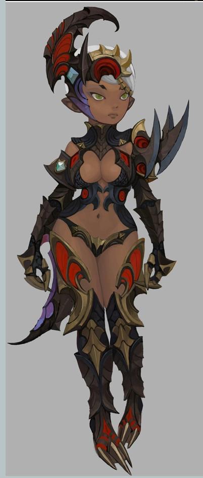 최 석영 Carly Black Dragon Armor