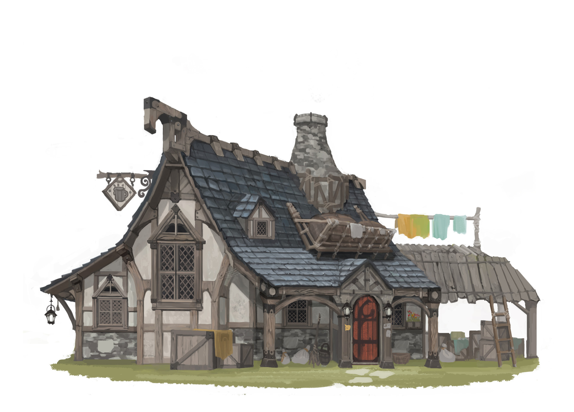 Moon Moon Medieval Small House
