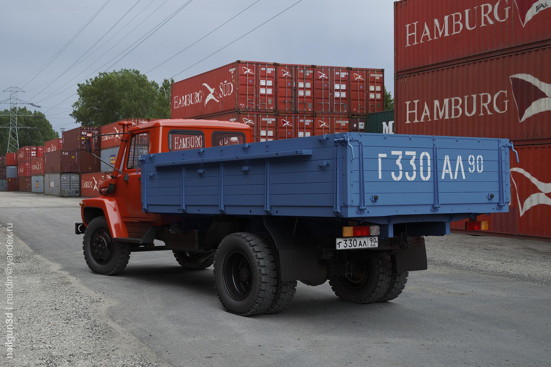 Nail khusnutdinov alg 021 010 gaz 3309 rear view 3x