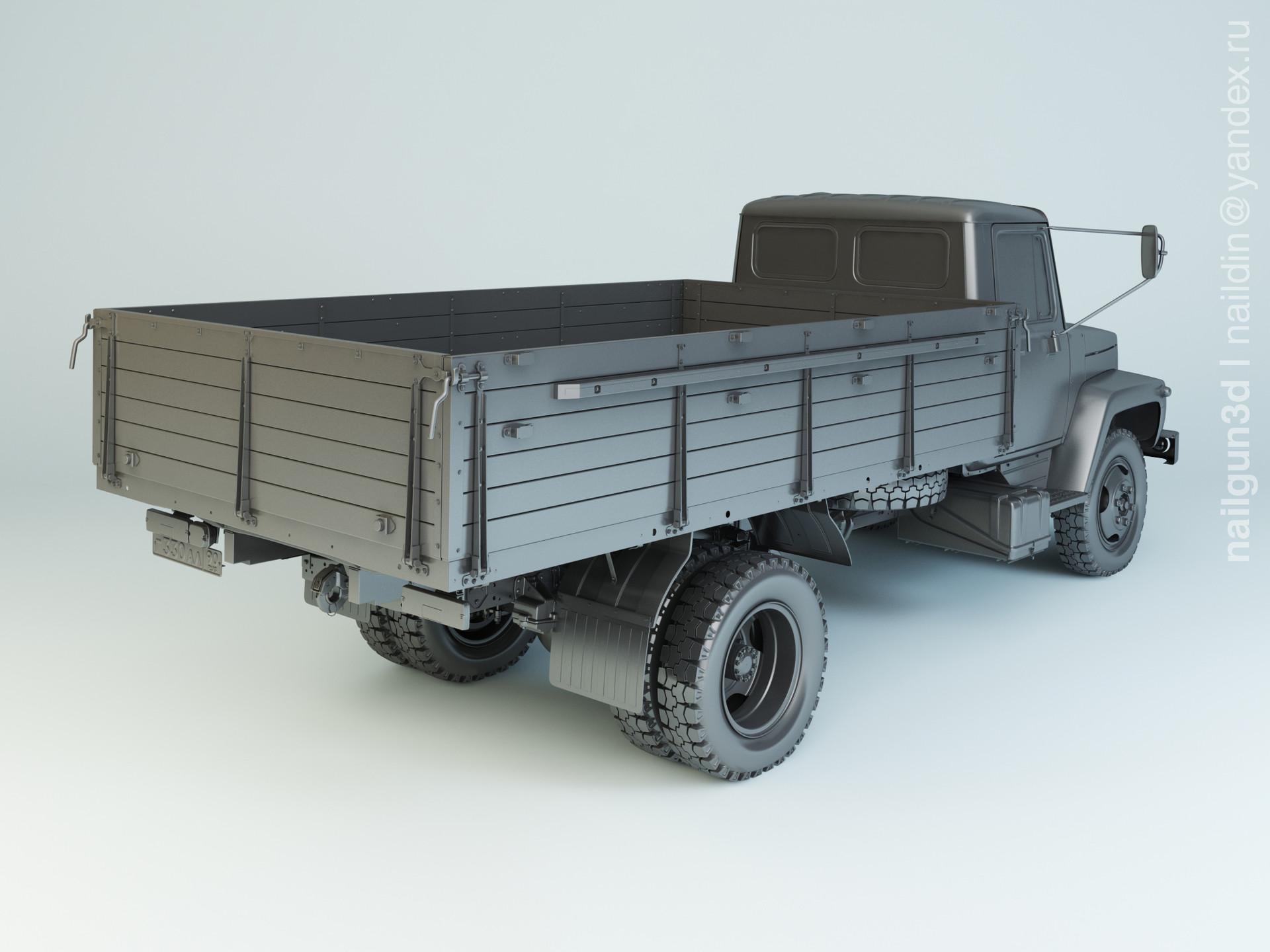 Nail khusnutdinov alg 021 000 gaz 3309 modelling 1