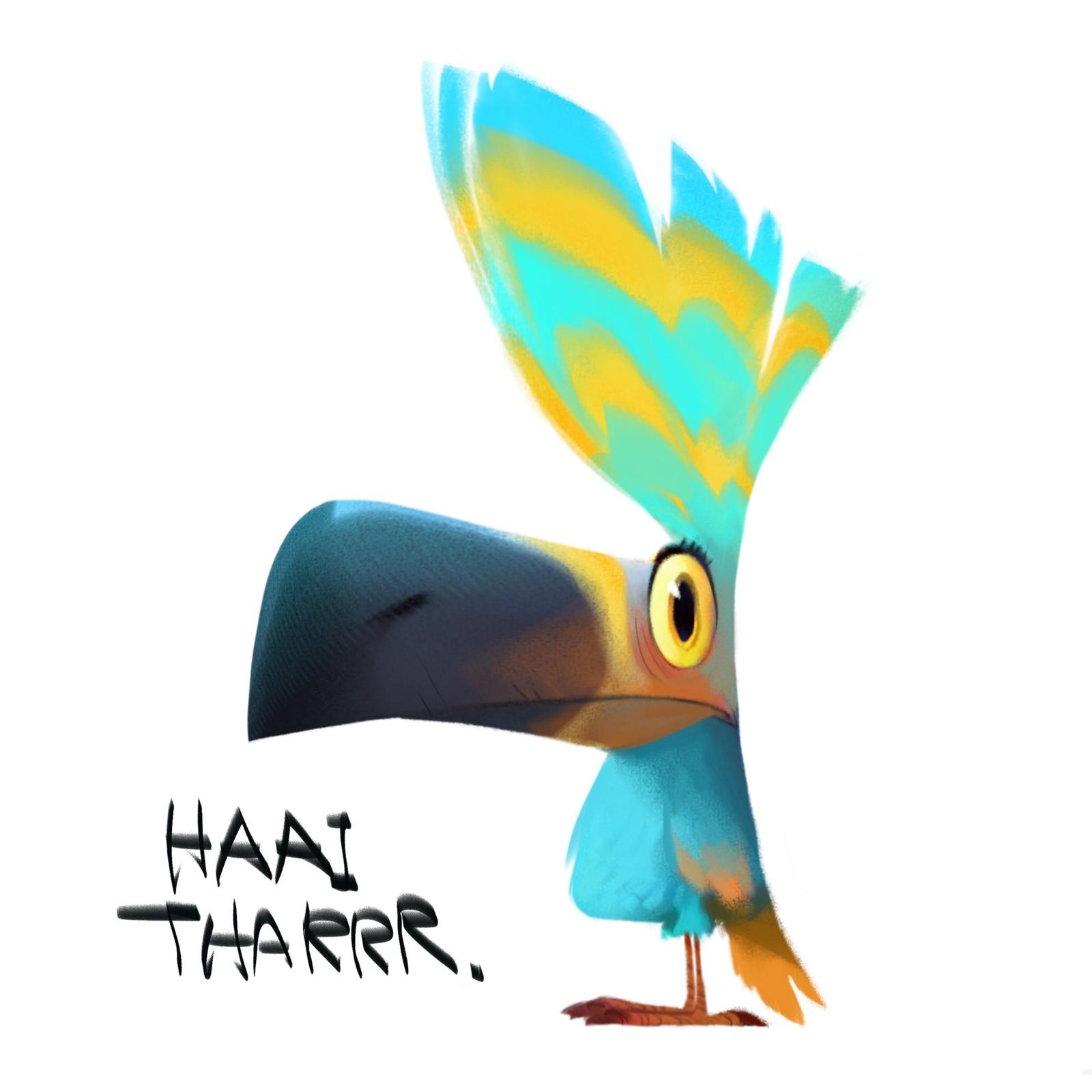 HAAI THARRR!