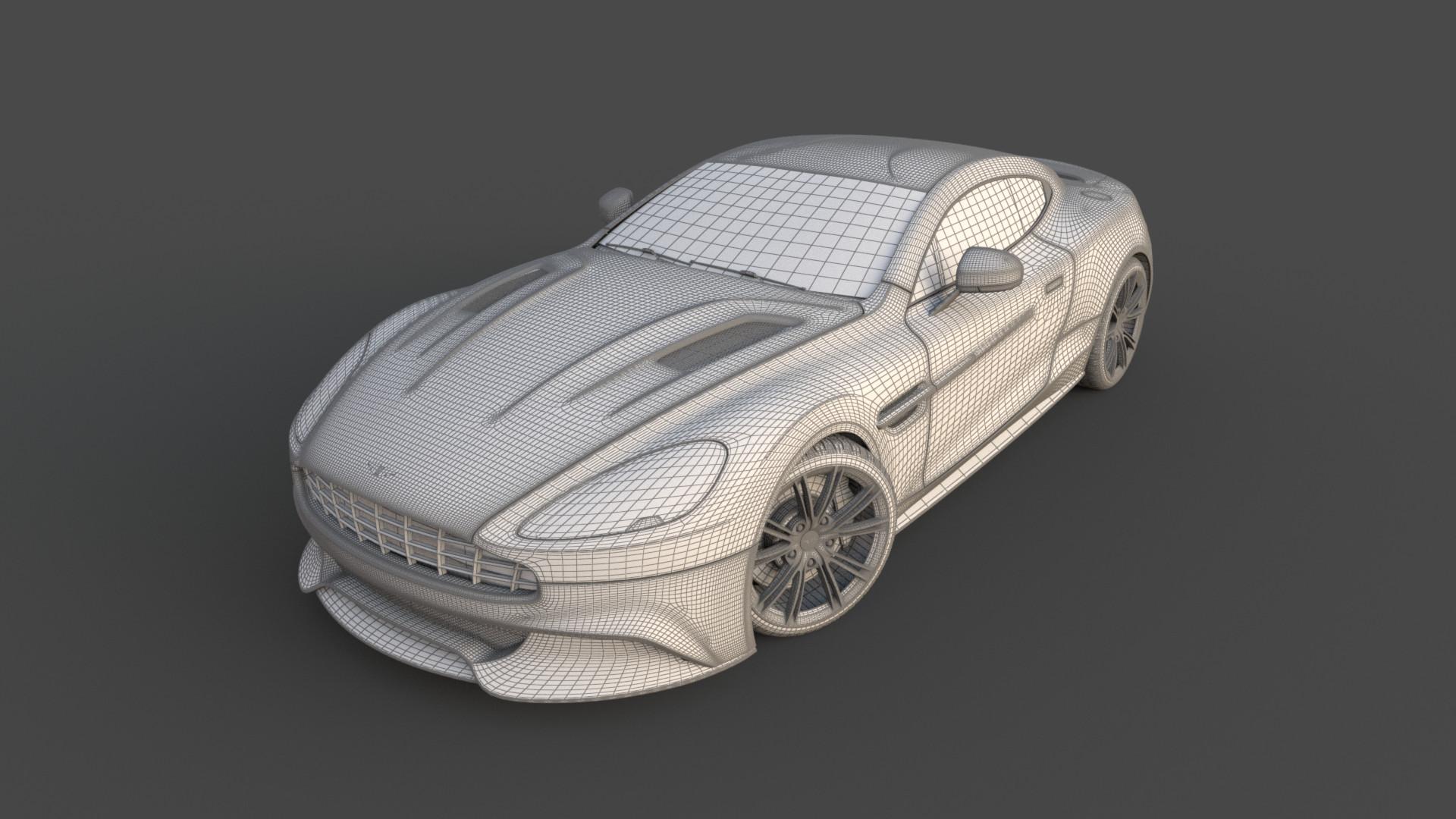 Vitaliy burov car wireframe