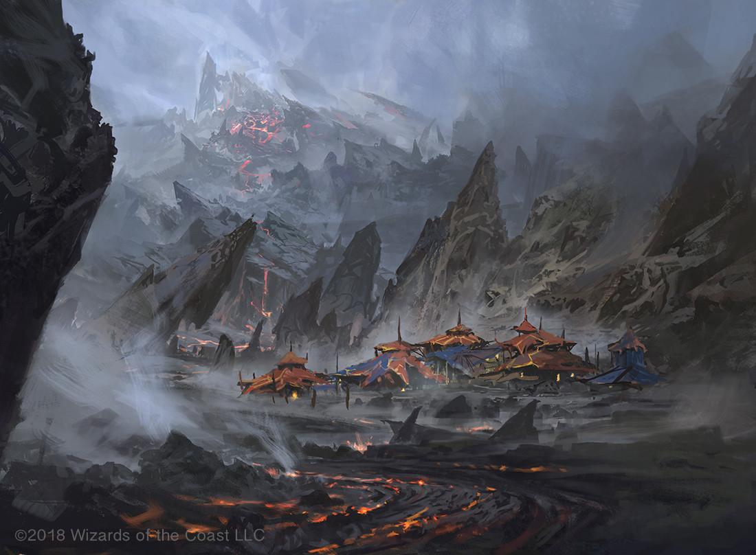 Image result for mtg dominaria lands art