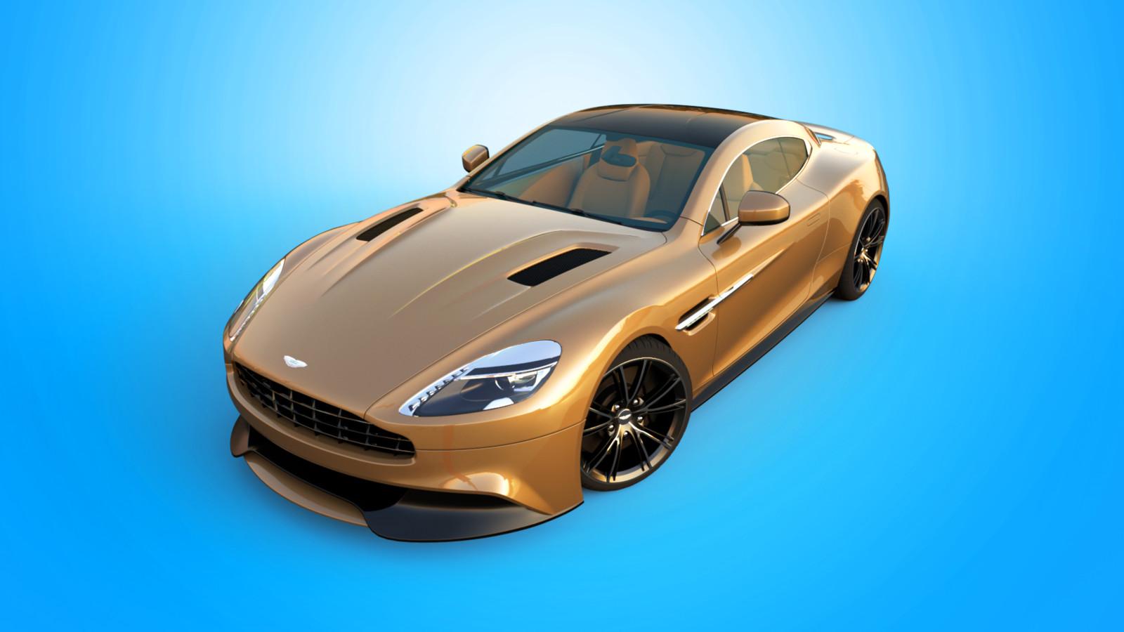 Aston Martin 2013 AM 310 Vanquish