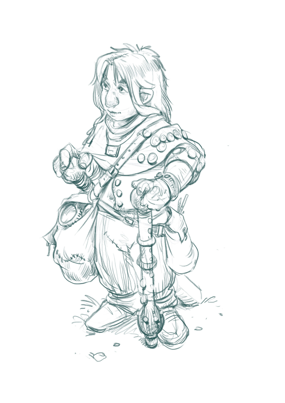 Treasure hunter.