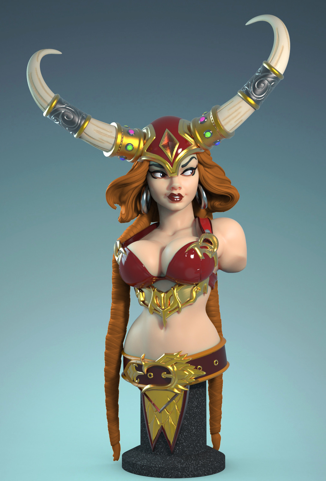 Freya 3d print bust