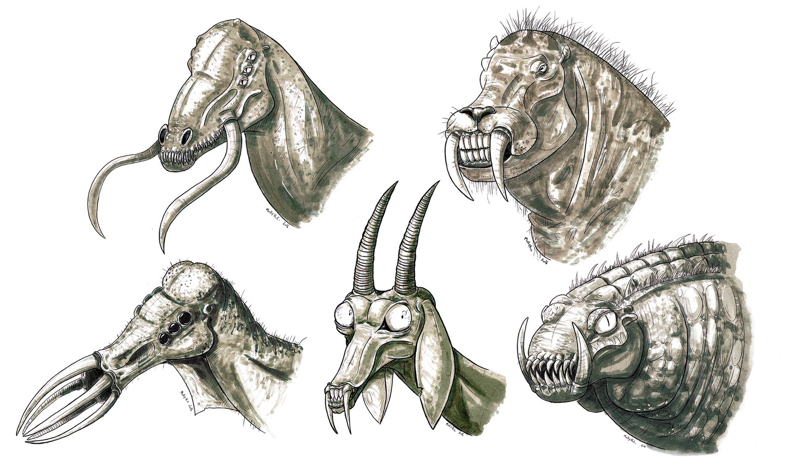Creature Portraits