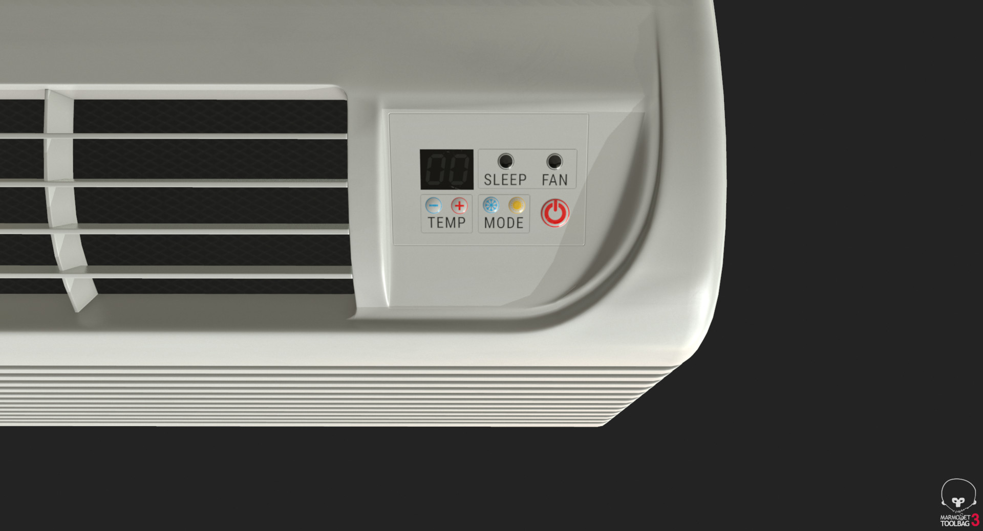 Vitalii Prokopenko - Air Conditioner PTAC - Game Ready