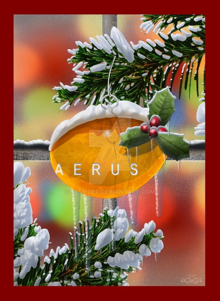 Sespider productions aerus christmas card by sespider d5mxyp2