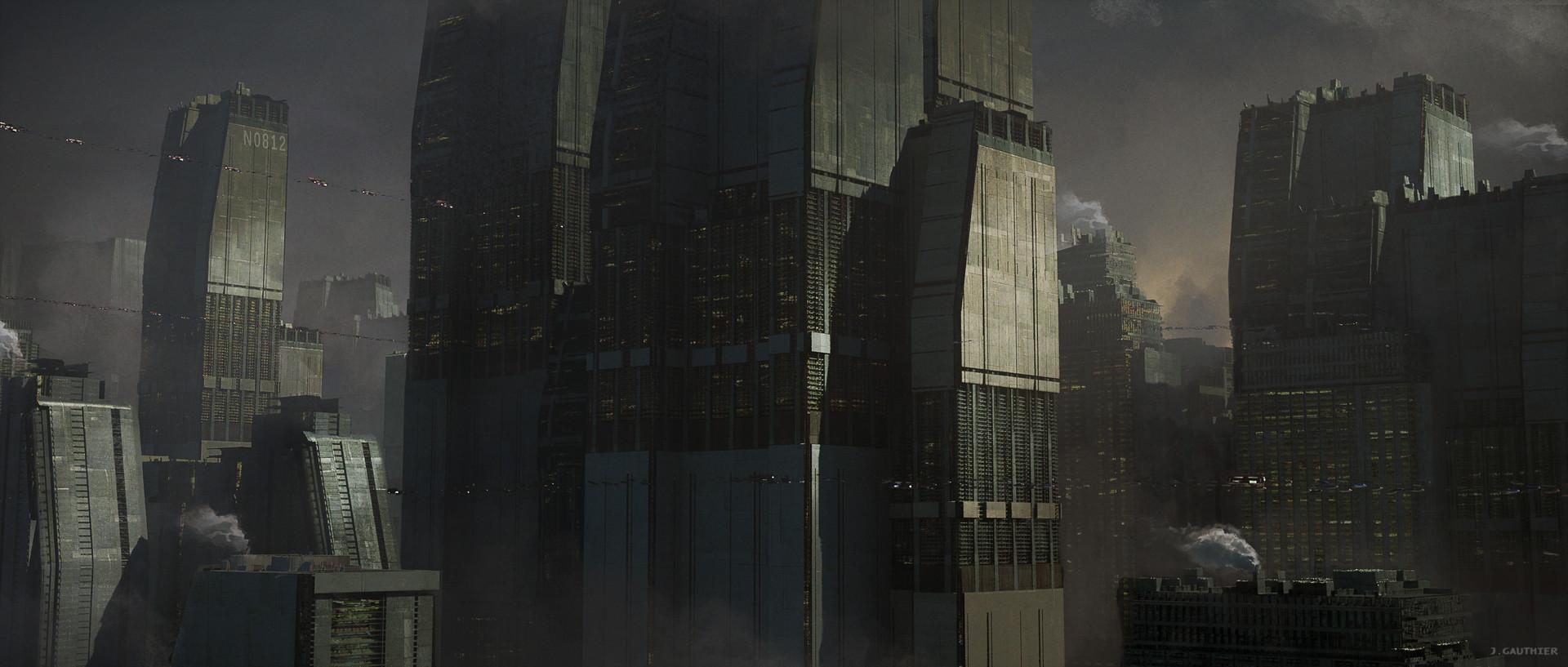 Julien gauthier scifi city 02