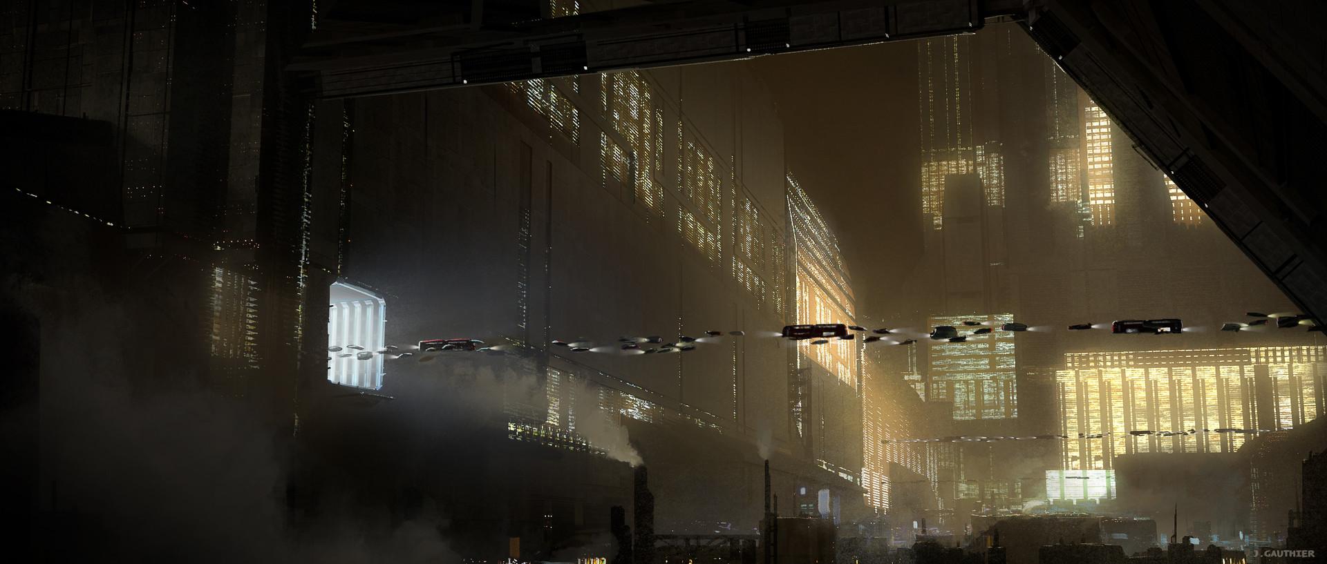 Julien gauthier scifi city 04