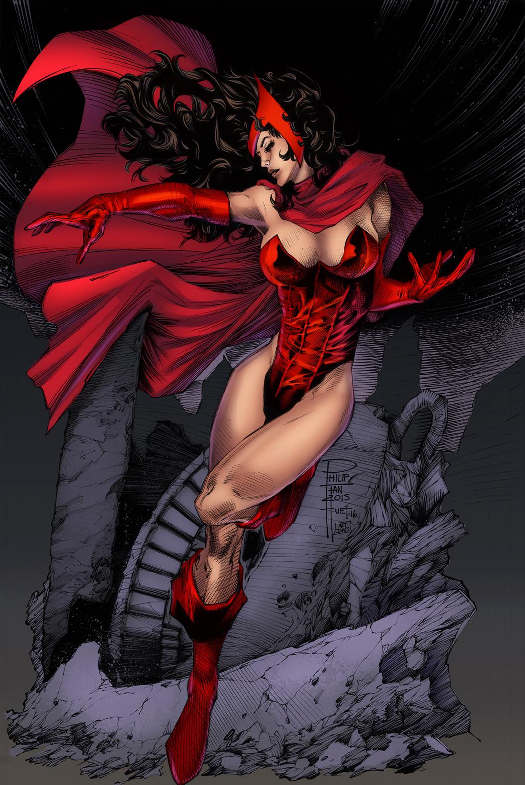 Matt james scarlet witch by knockmesilly dalilcy lr