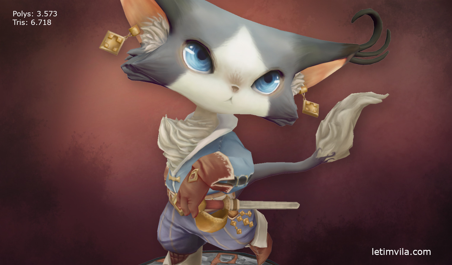 Musketeer Cat