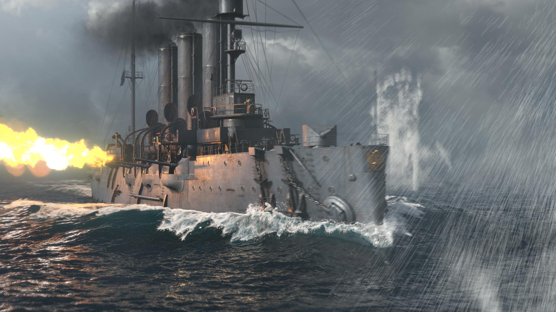 Artstation World Of Warships Naval Legends Aurora Andrian