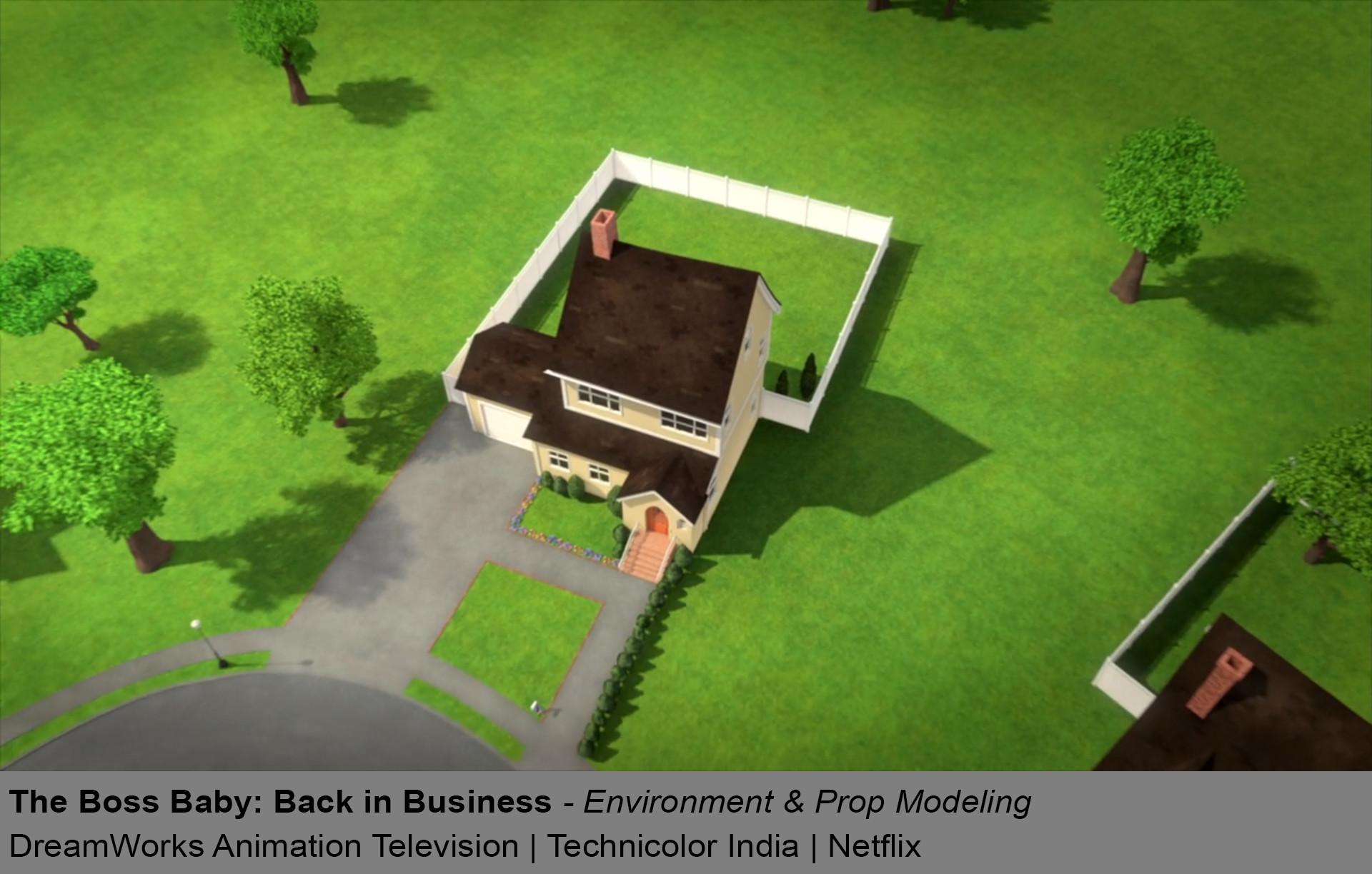 ArtStation - The Boss Baby: Back in Business, Shravan S