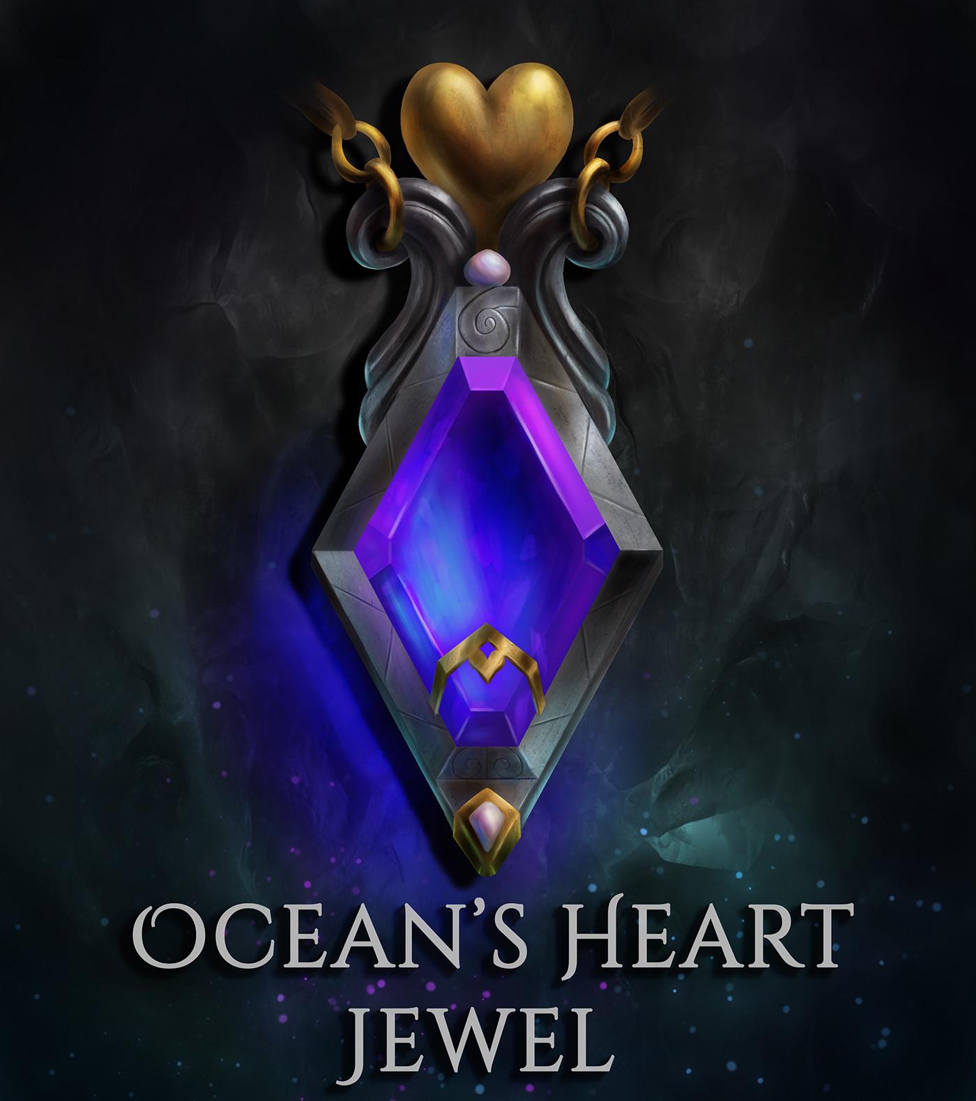 Ocean's Heart Jewel