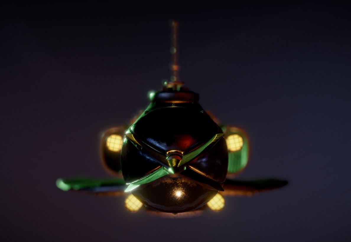 ArtStation - Animated Steampunk Submarine (UE4), Tornike Bardavelidze