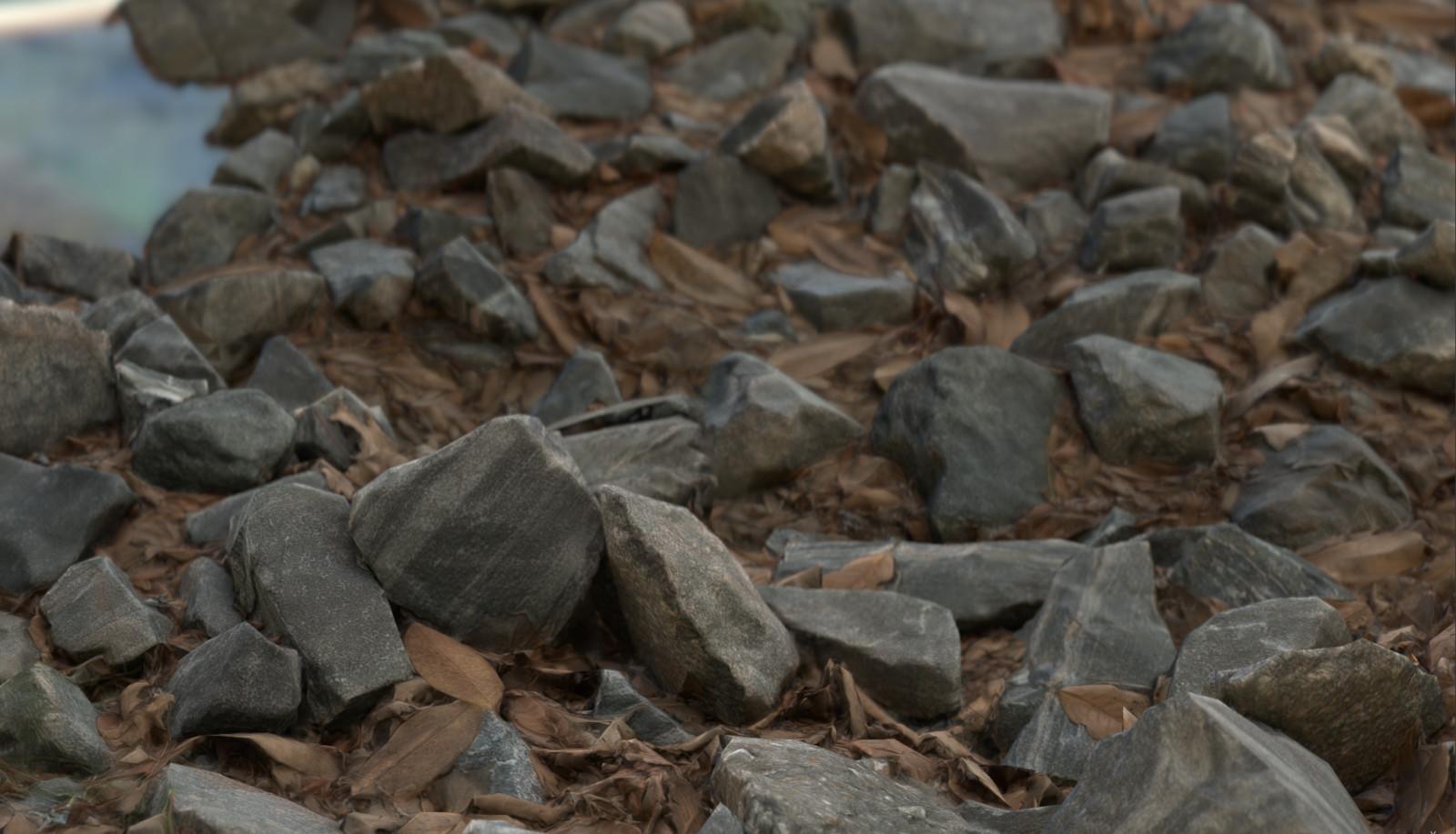 Rock Bed Photogrammetry Experiment