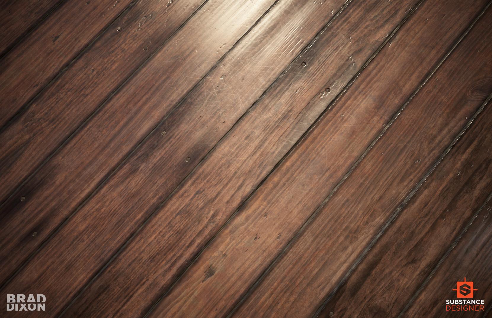ArtStation - Age-able Varnished Wood, Brad Dixon