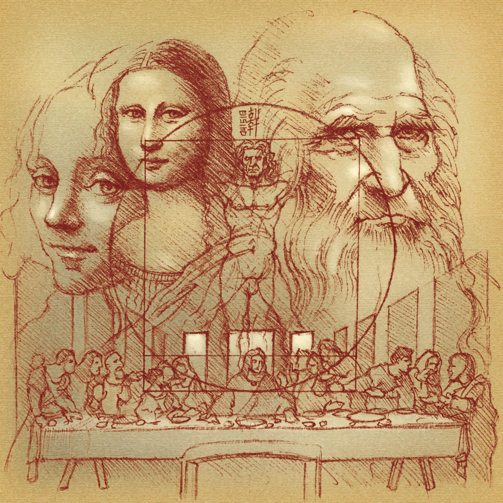 Day 04-15-18 - Da Vinci in Red