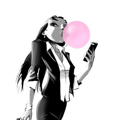 Josep giro torrens bubblegum