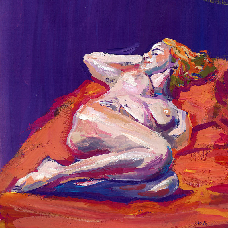 Life Drawing - Paintings