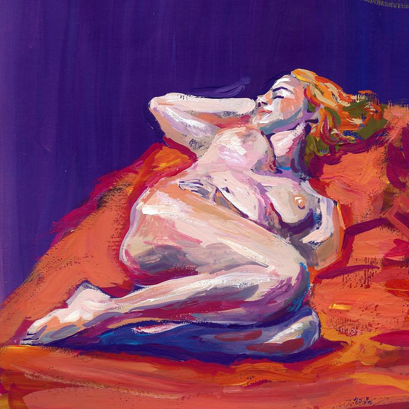 Life Drawing - Paintings
