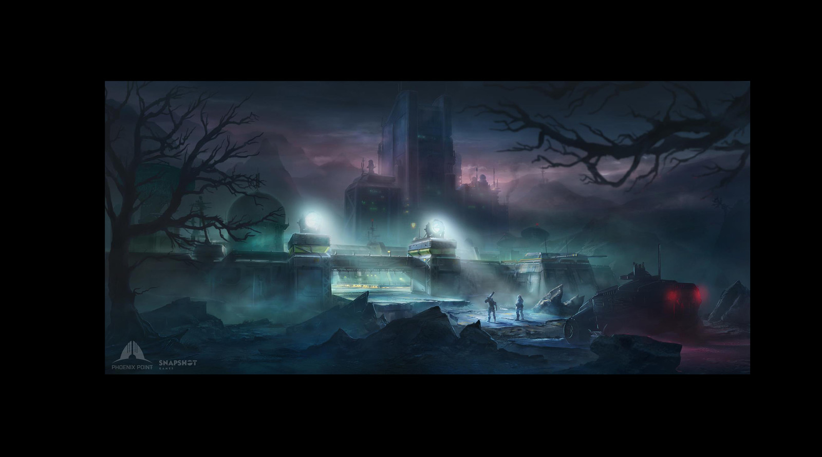 Phoenix Point ,Concept art (game demo level)
