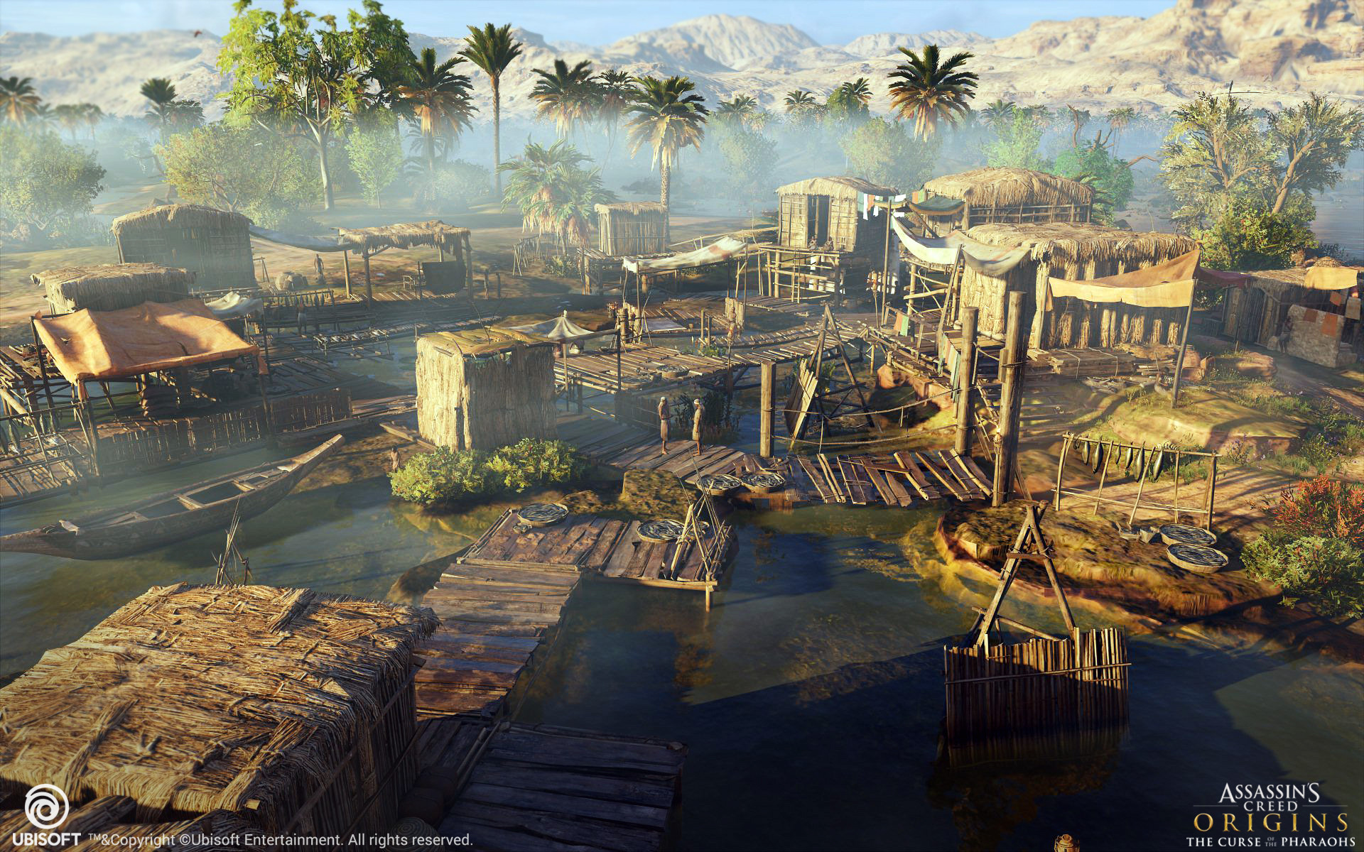 Artstation Assassins Creed Origins The Curse Of The
