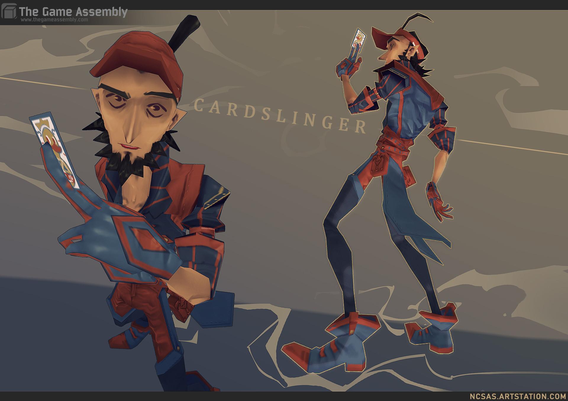 N c sas cardslinger coolpose
