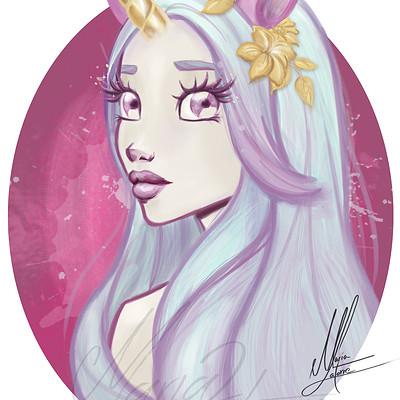 Maria latorre chica unicornio 2f br