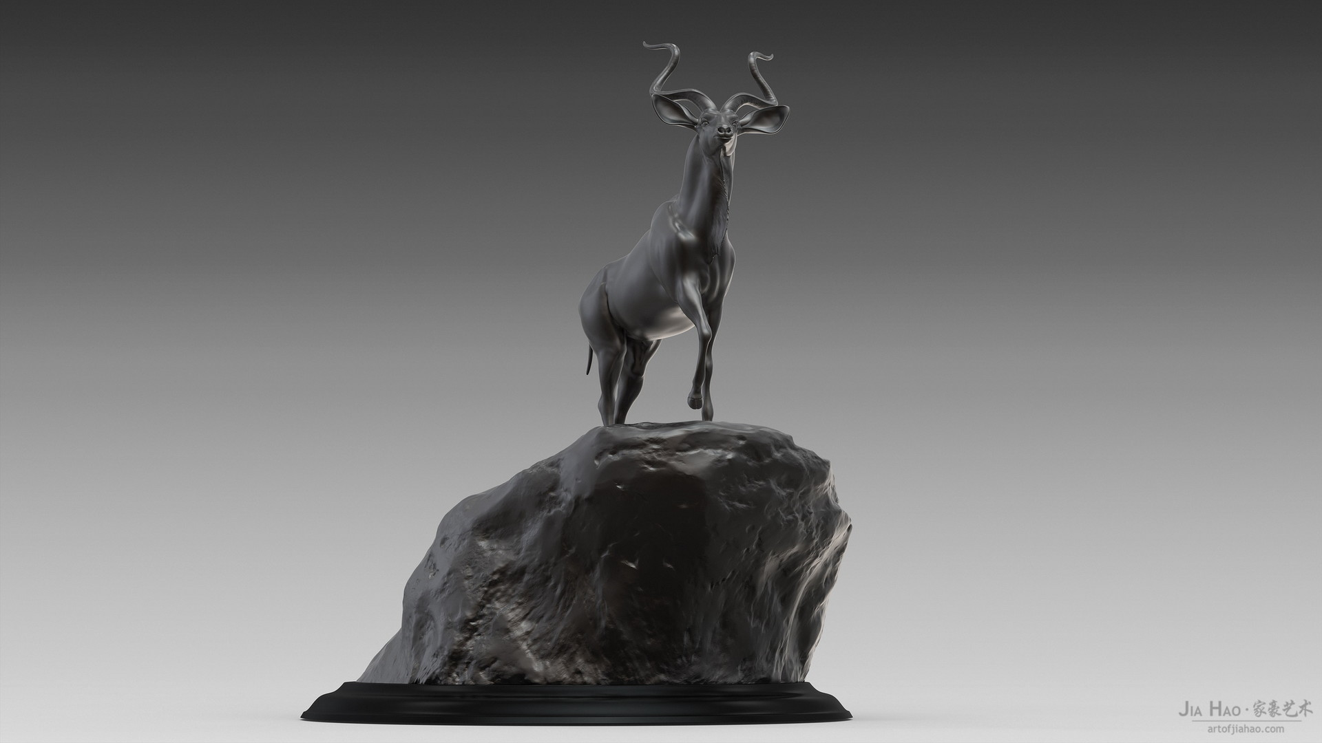 Jia hao greaterkudu digitalsculptureb 02
