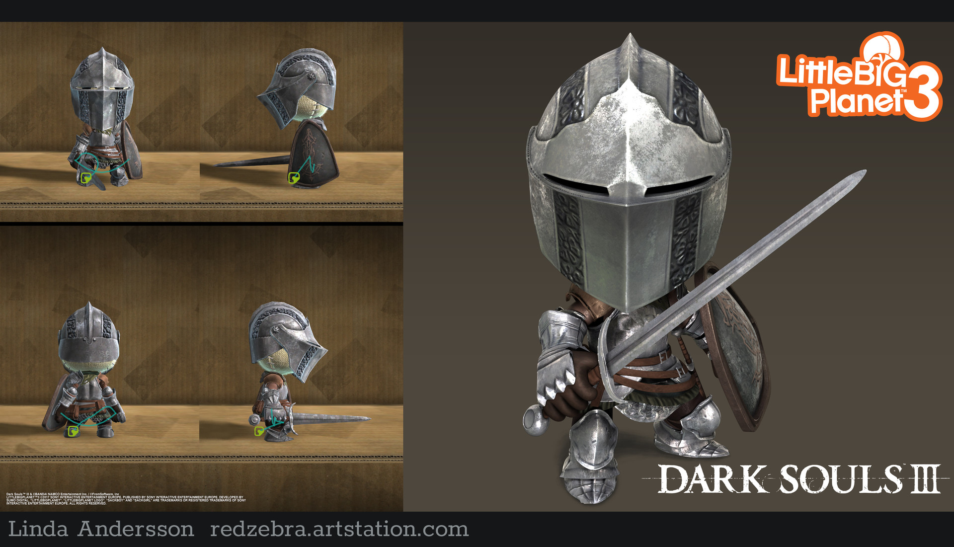 ArtStation - Dark Souls 3 DLC Costumes, Linda Andersson