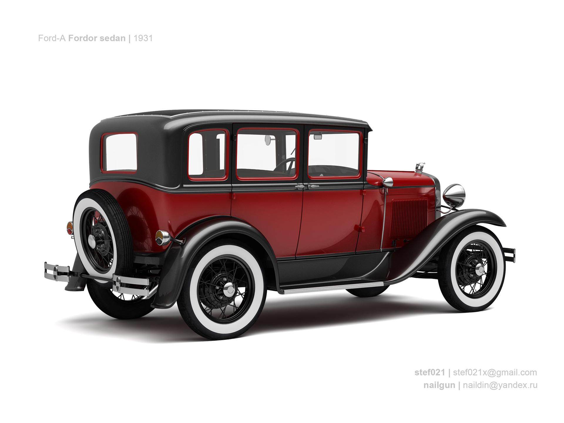 Nail khusnutdinov usa ford a fordor 1931 1