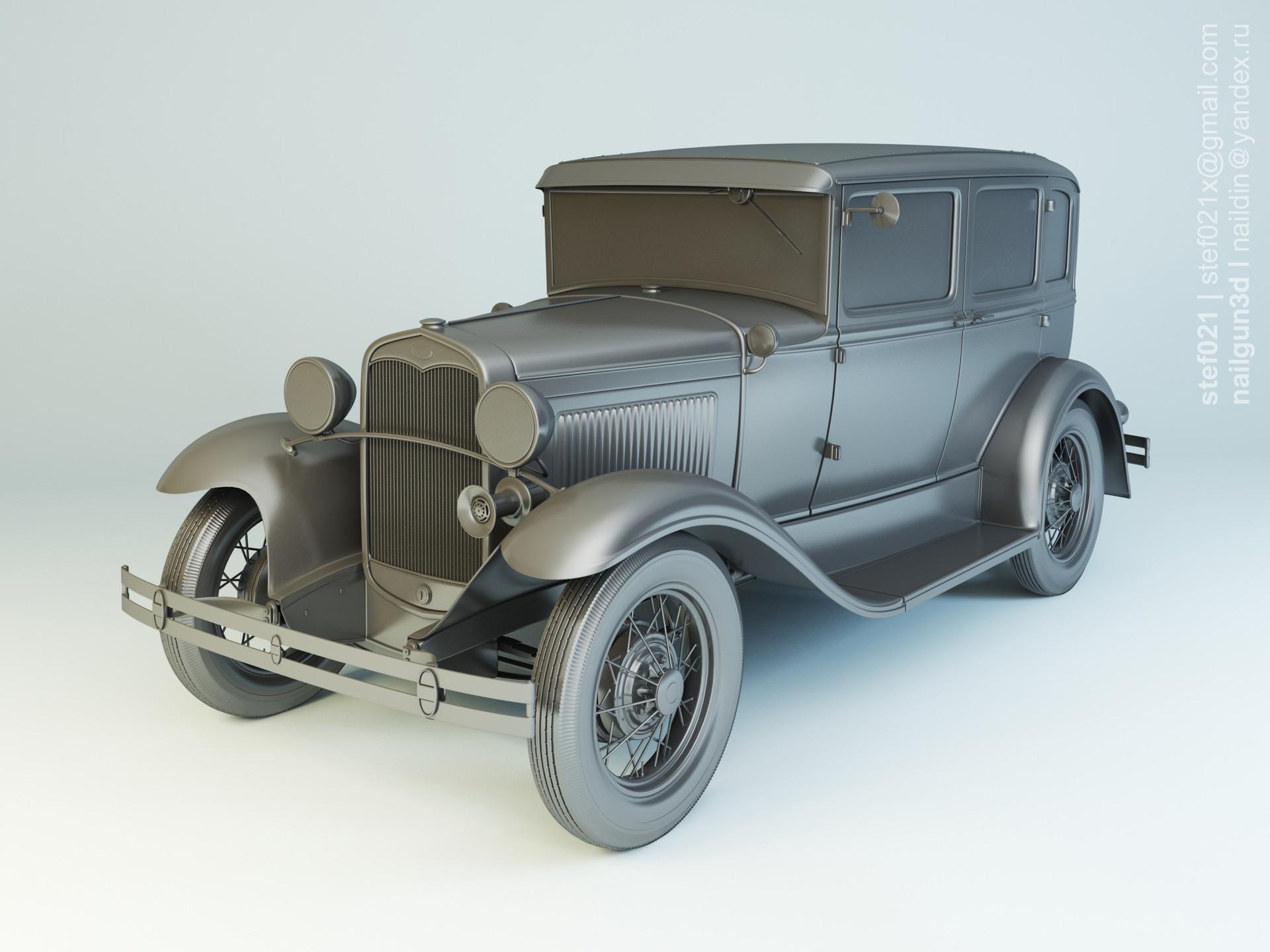 Nail khusnutdinov a0003 ford a fordor 1931 clay 0