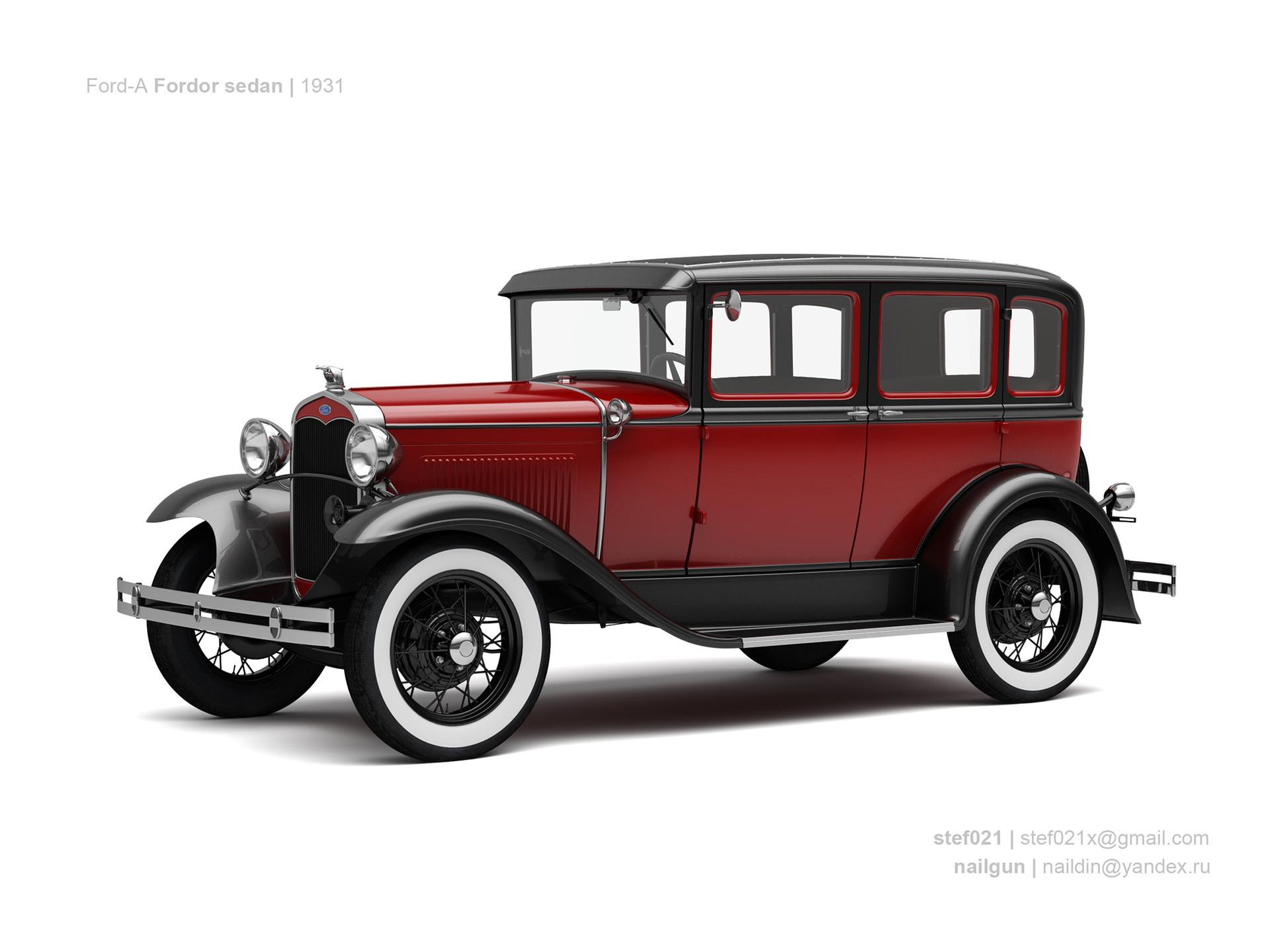 Nail khusnutdinov usa ford a fordor 1931 0
