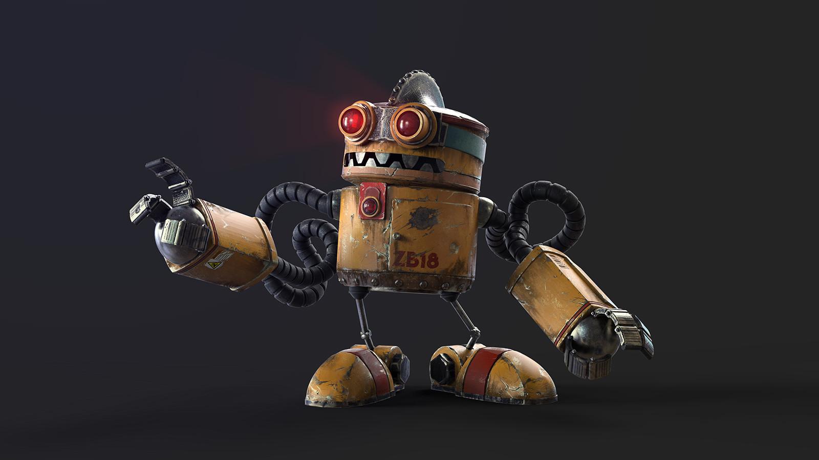 Roboto ZB18 final composition