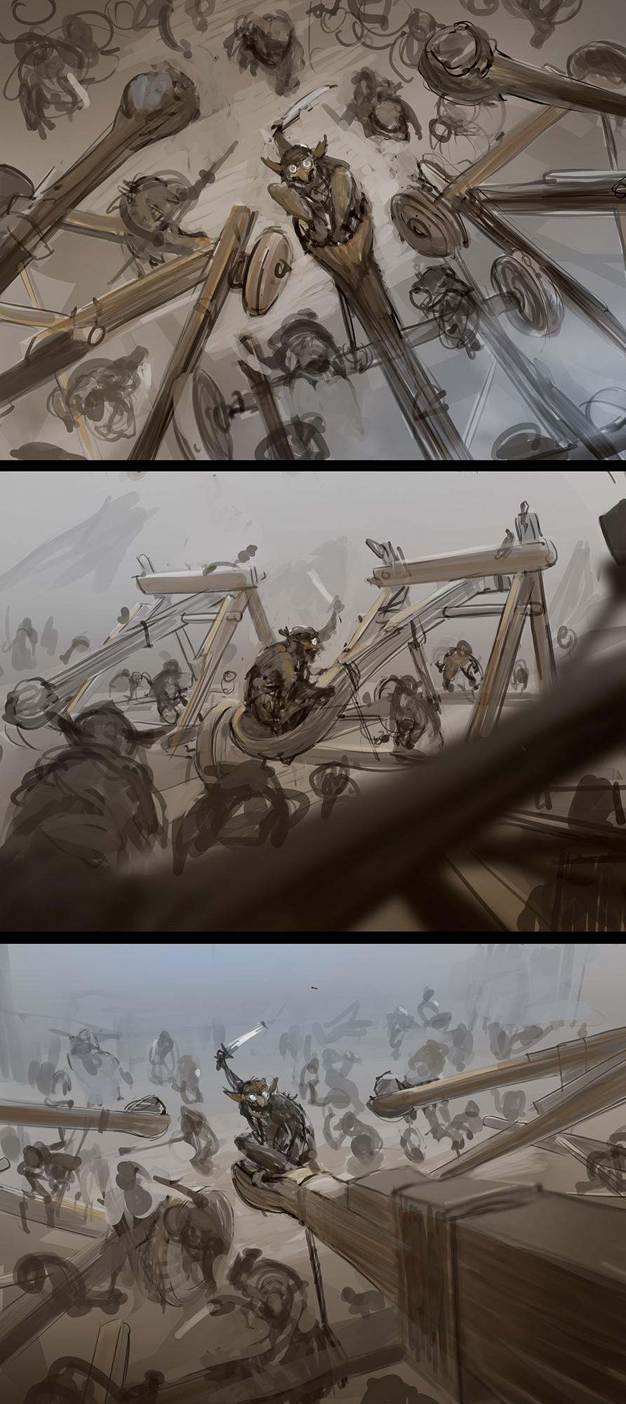 Bram sels wotc goblin barrage bram sels sketches