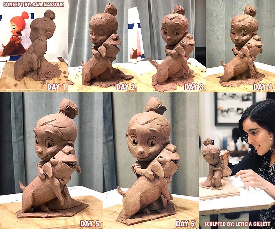 Leticia reinaldo gillett leticia g sculpt progress