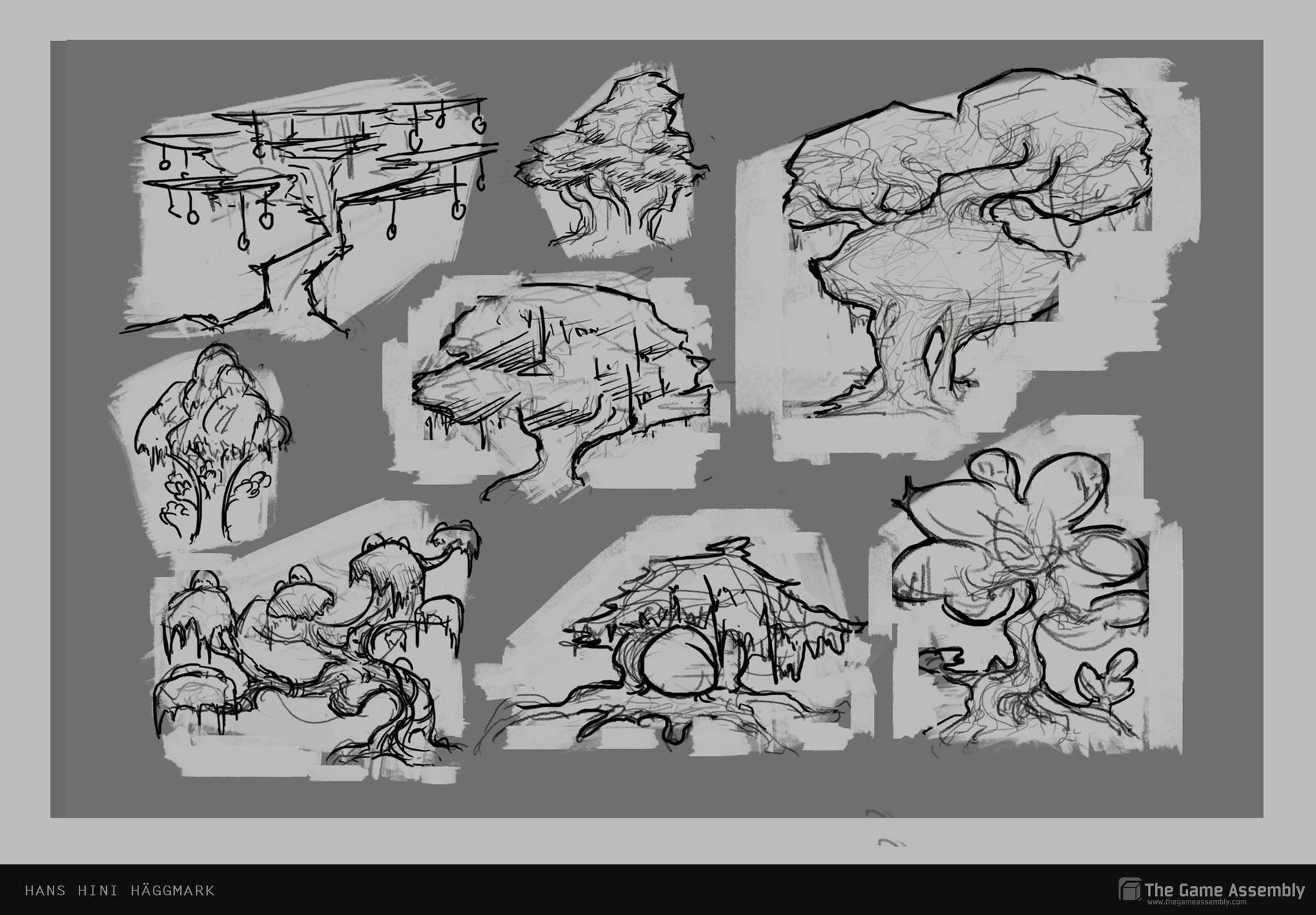 Hini haggmark flora sketches2