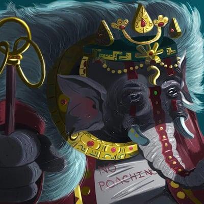 Moe murdock elephant gods final
