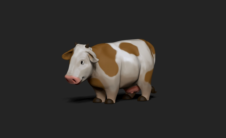 Victoria march cow