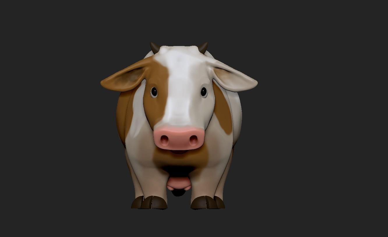 Victoria march cow1
