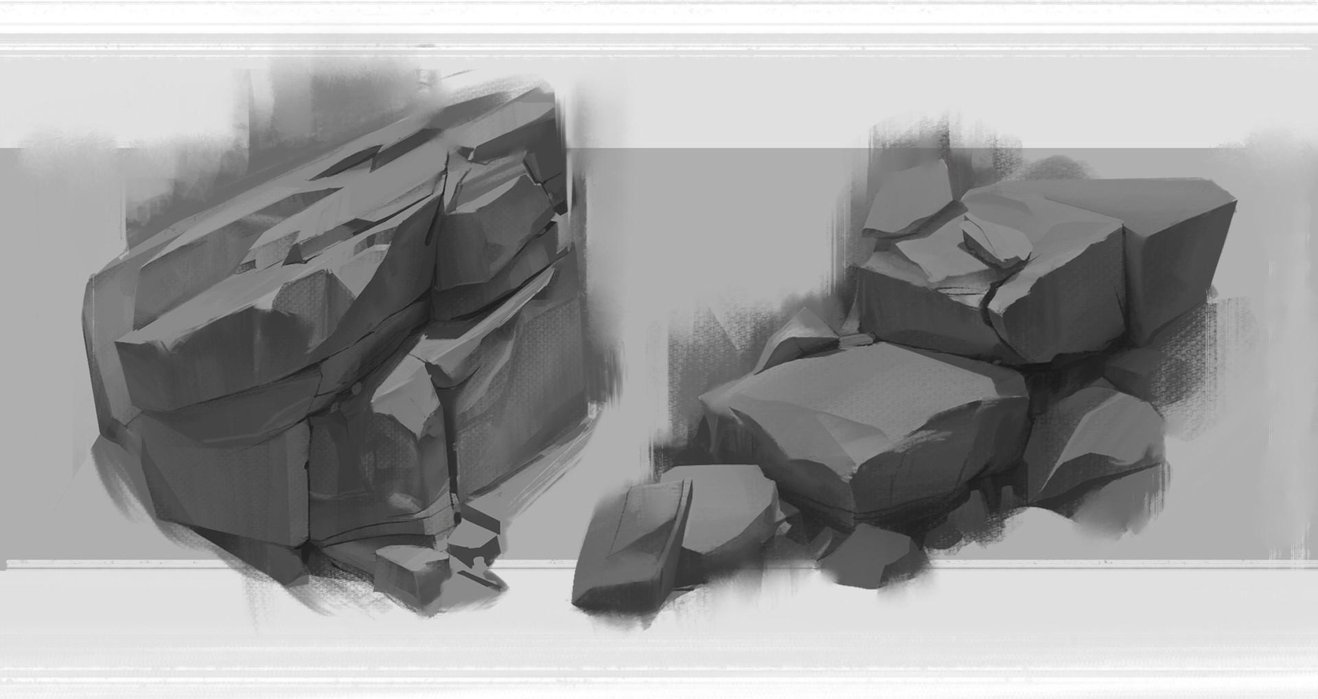 David fortin rock studies 1