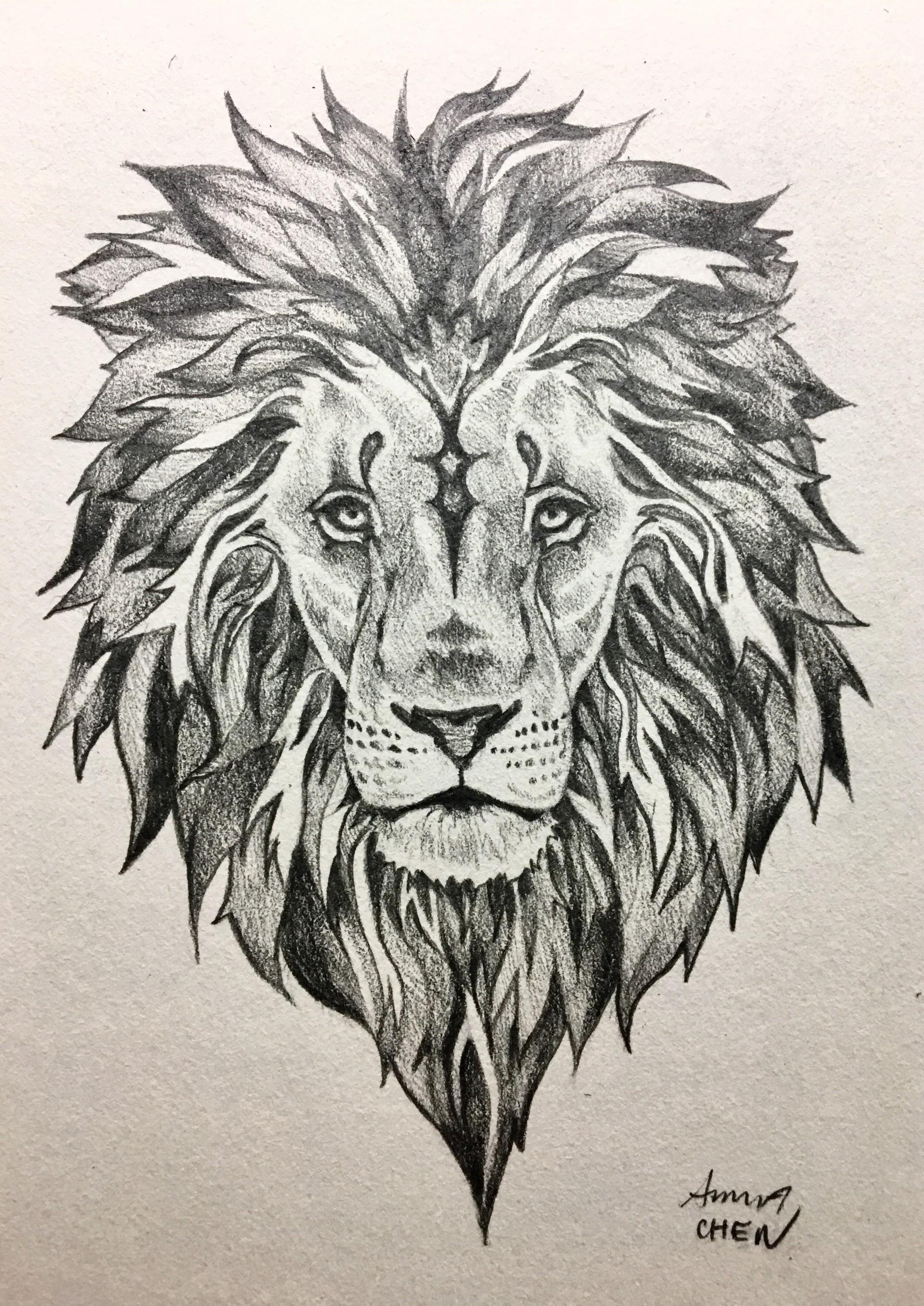 Artstation Lion Tattoo Designs Anna Chen